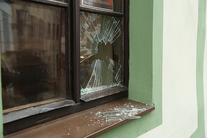 A2B Glass are able to board up broken windows while they are being repaired in Adur.